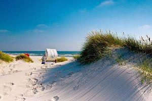 La mer du Nord , Les îles frisonnes septentrionales , Allemagne