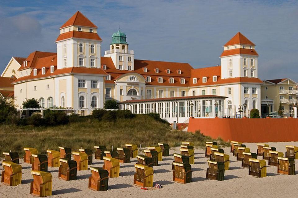 La côte baltique , L'établissement thermal de Binz , Allemagne