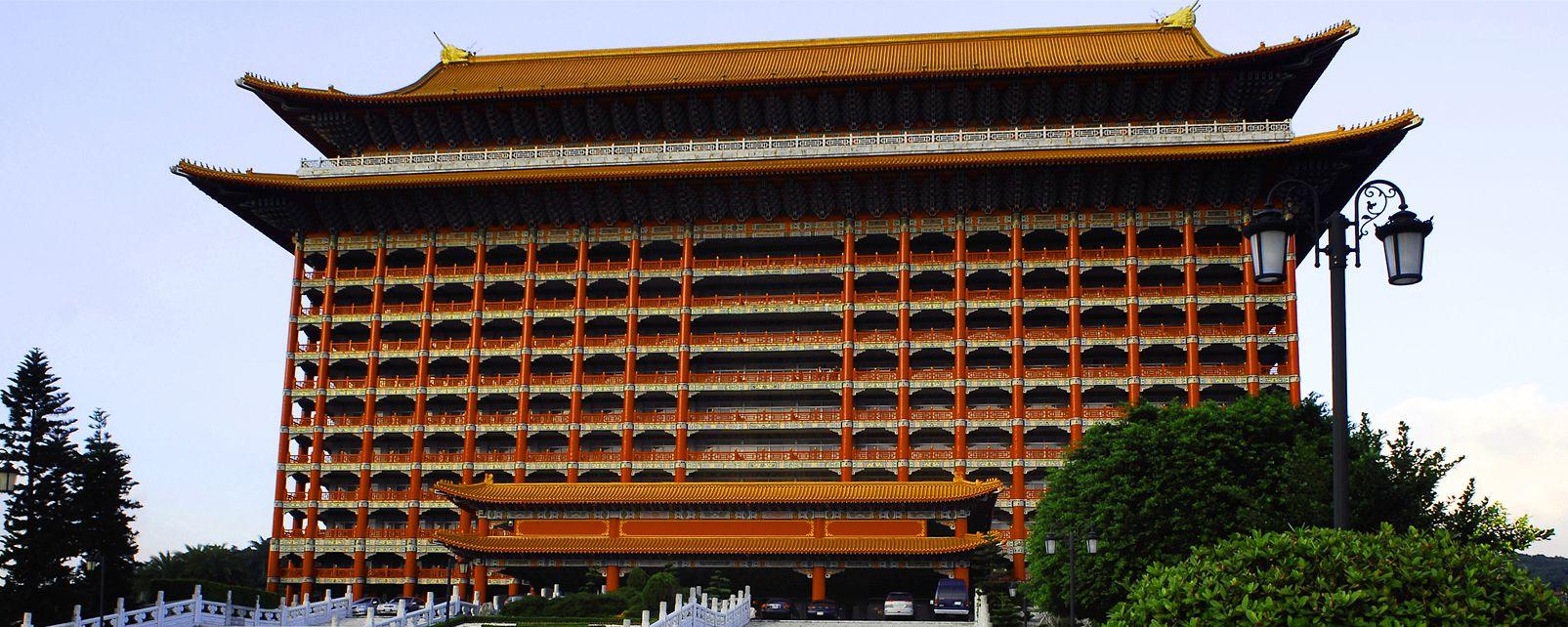 Le Grand Hôtel Taipei, Le Grand Hôtel à Taipei, Les monuments, Taïwan