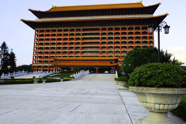 El Gran Hotel Taipéi, El Gran Hotel en Taipéi, Los monumentos, Taiwan