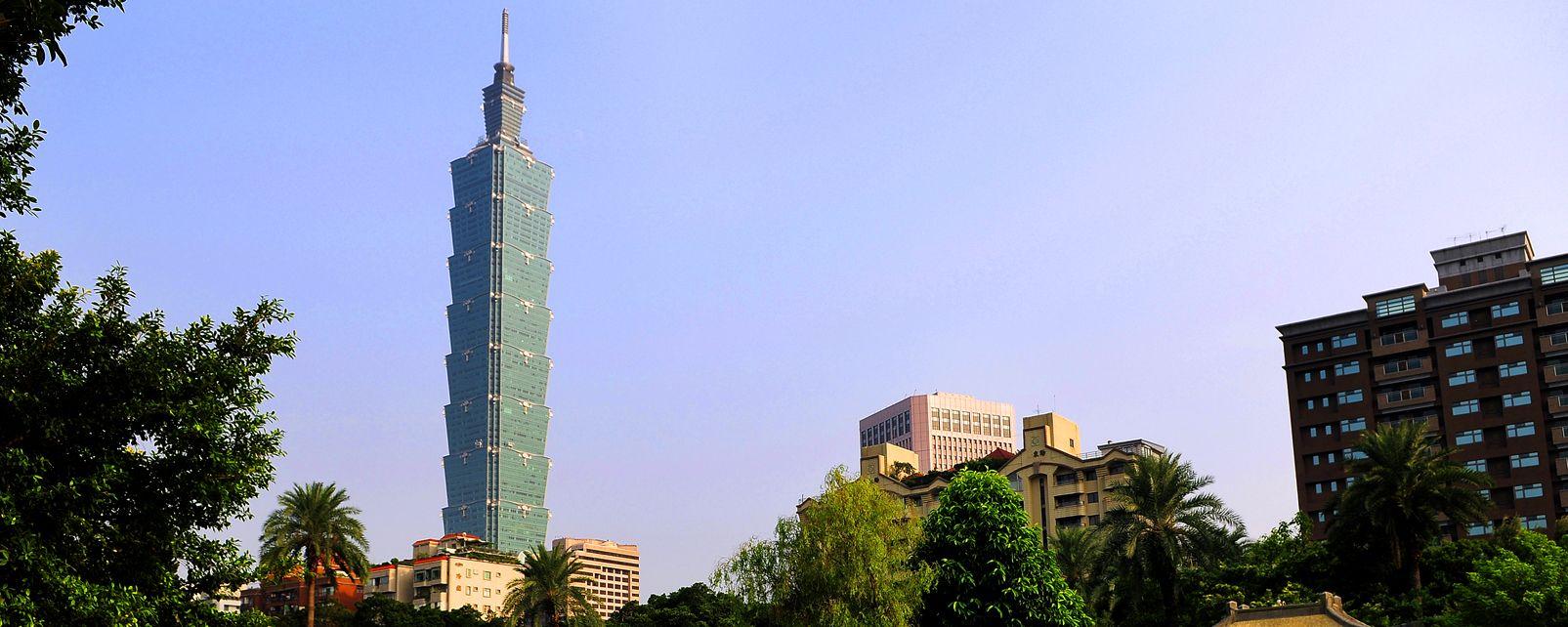 Taipei 101 , La tour Taipei 101 , Taïwan