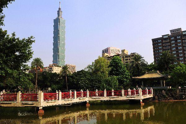 Taipei 101 , The Taipei 101 Tower , Taïwan
