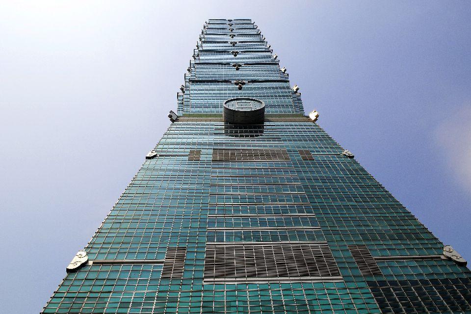 Taipei 101 , Un auténtico prodigio técnico. , Taiwán