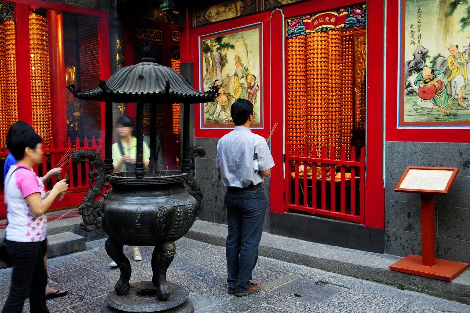 Un lugar popular y lleno de vida, El templo de Longshan, Los monumentos, Taiwan