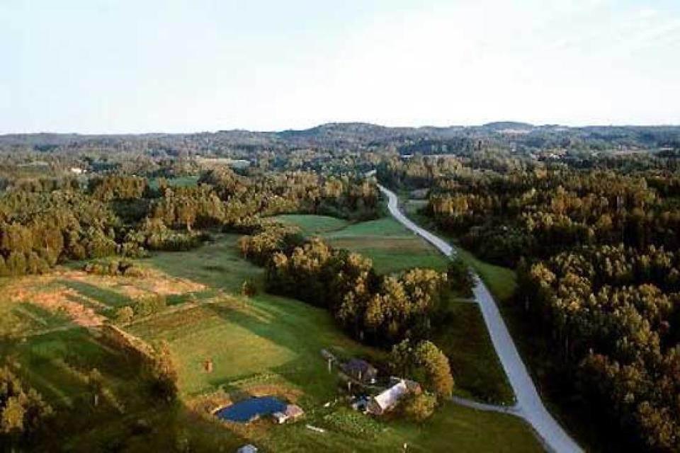 The mount Suur-Munamägi. , Estonia