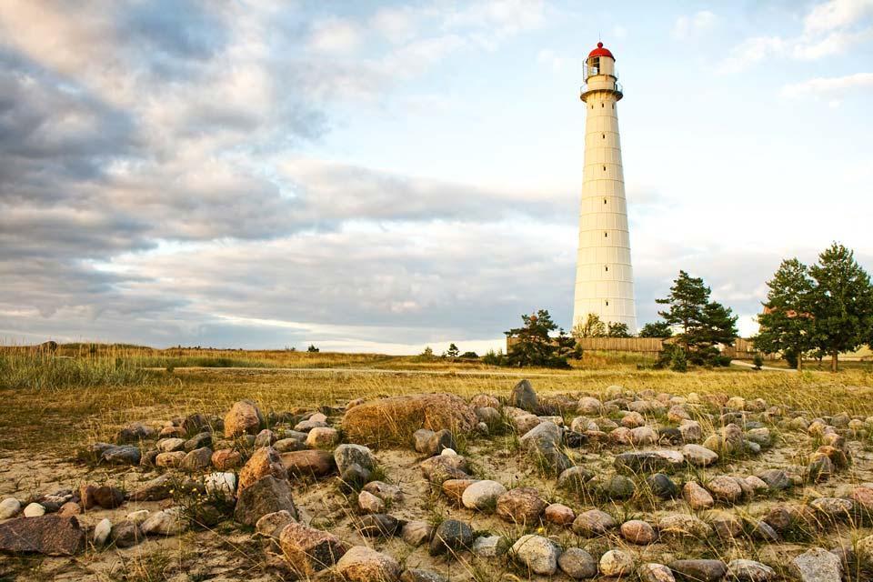 The romantic western coast , Estonia