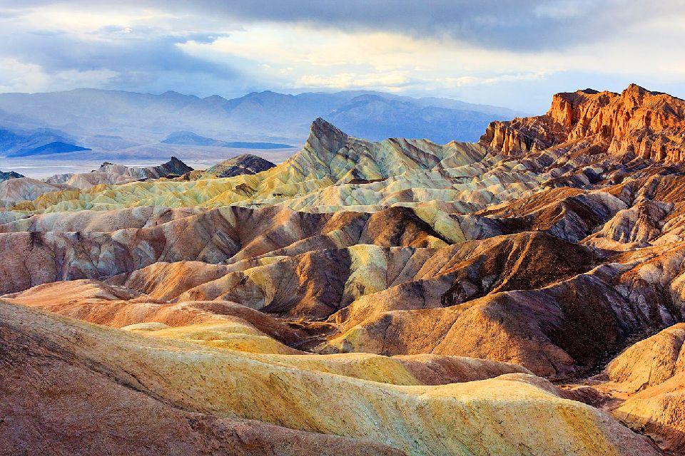 Les grands espaces , La Death Valley, Californie , Etats-Unis