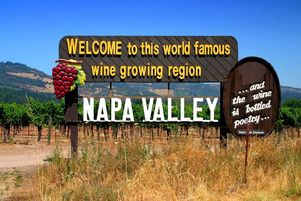 Les vignes de la Napa Valley, Les vallées viticoles, Les paysages, Californie