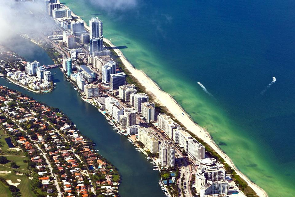 Landscapes of the South , Ocean Drive, Miami, USA , United States of America