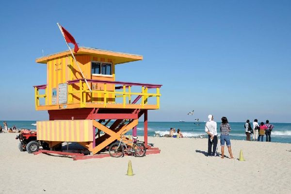 La Gold Coast , South Beach, Miami , Etats-Unis