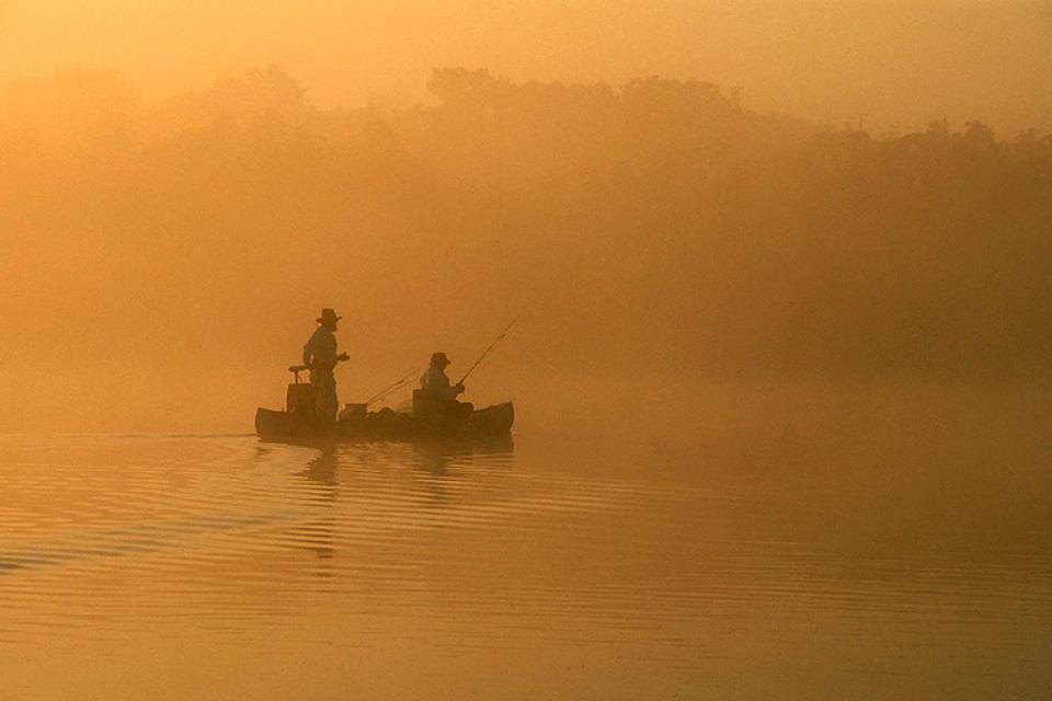 Les Everglades , Pêche dans les Everglades , Etats-Unis