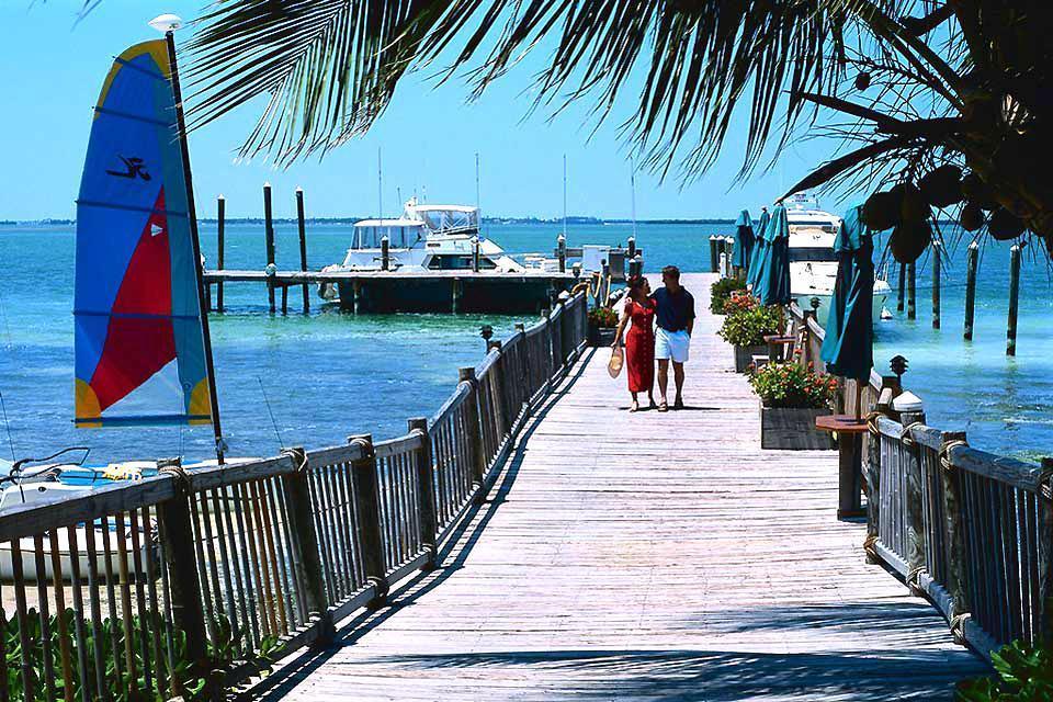 The Florida Keys , The Florida Keys at sunset, USA , United States of America
