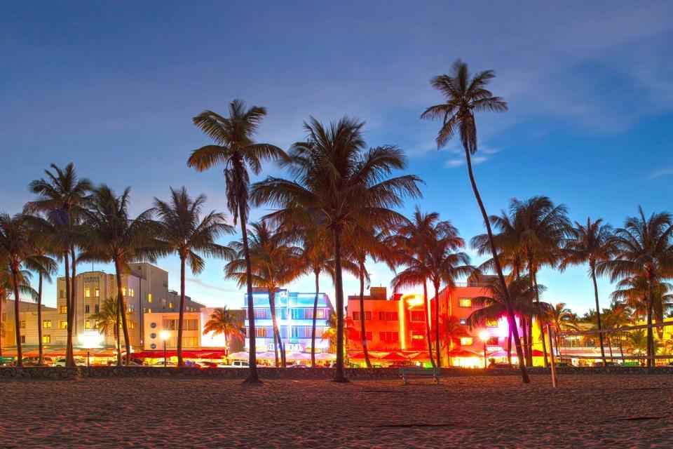 Sortir à Miami , Les rues de Miami , Etats-Unis