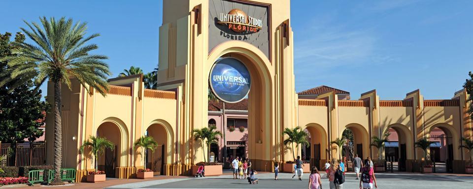 Orlando, The Simpson Ride