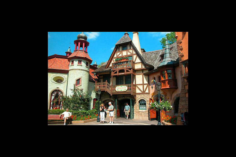 Das World Showcase , USA
