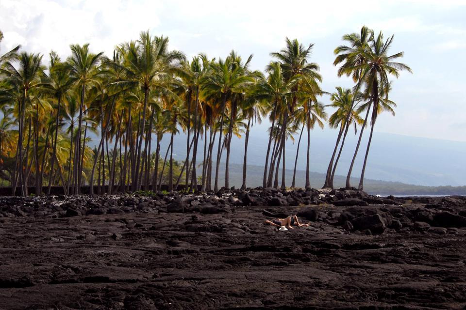 Le Parc historique de Puuhonua o Honaunau (Hawaii) , Etats-Unis