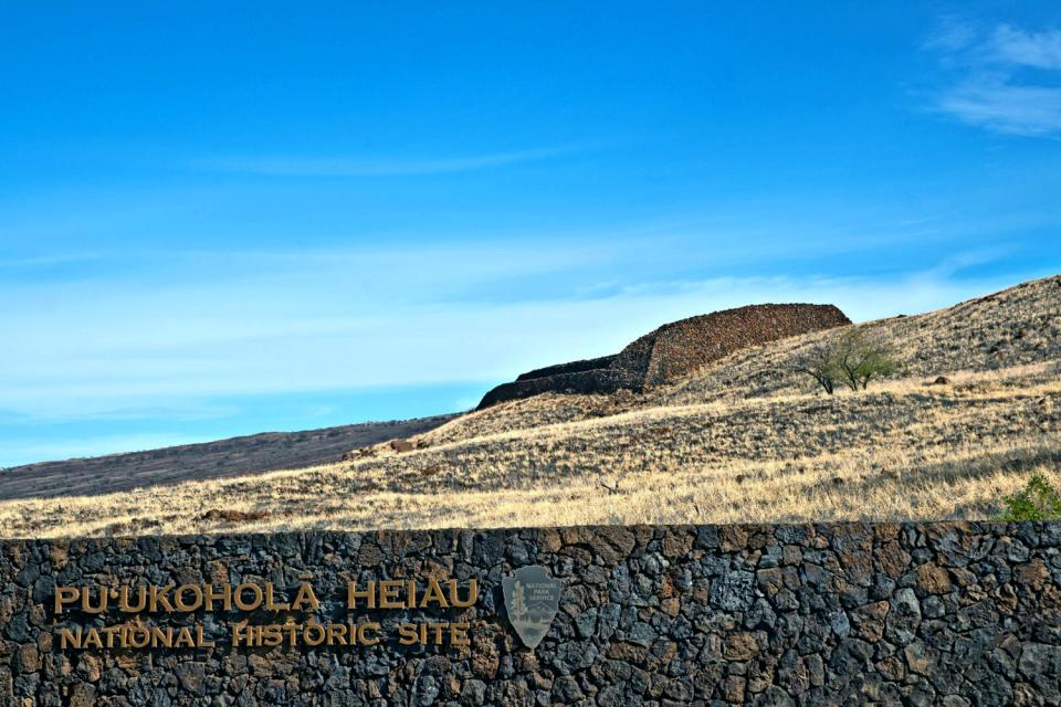 Le Parc historique de Puukohola Heiau (Hawaii) , Etats-Unis