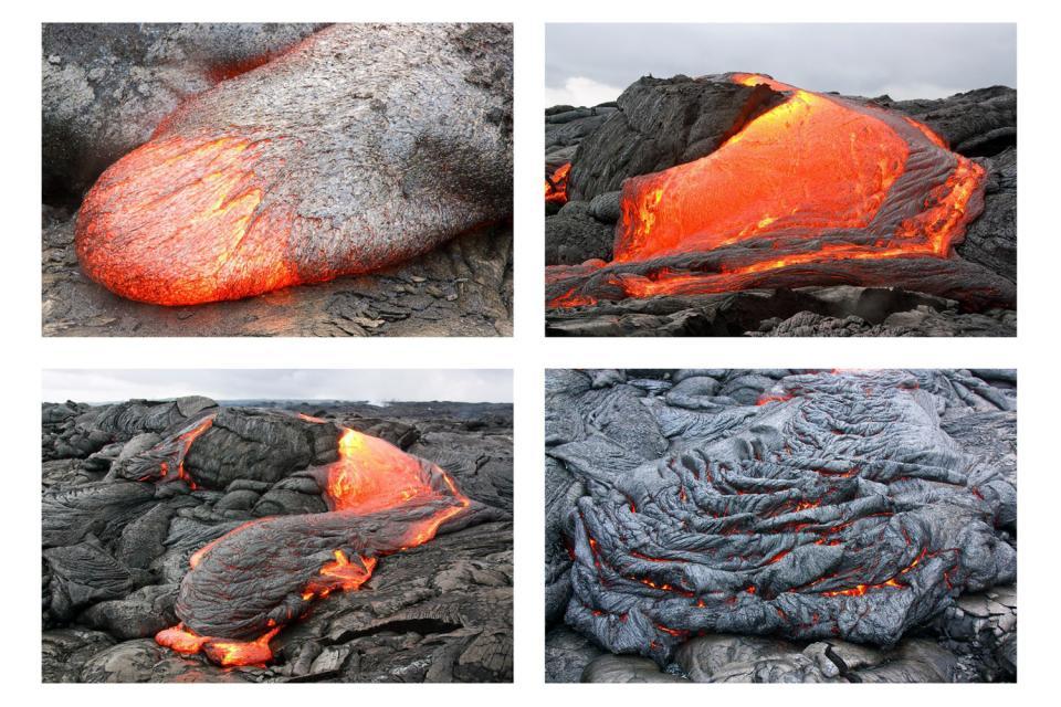 El Parque nacional de los Volcanes (Hawaii) , Estados Unidos