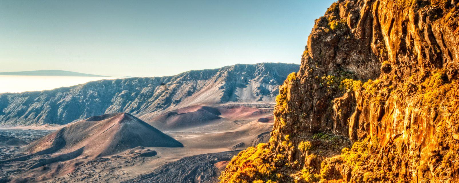 Les paysages, Haleakala, hawaii, etats-unis, USA, amérique, île, volcan, maui