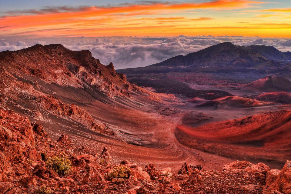 , El Parque nacional Haleakala (Maui), Los paisajes, Hawaï