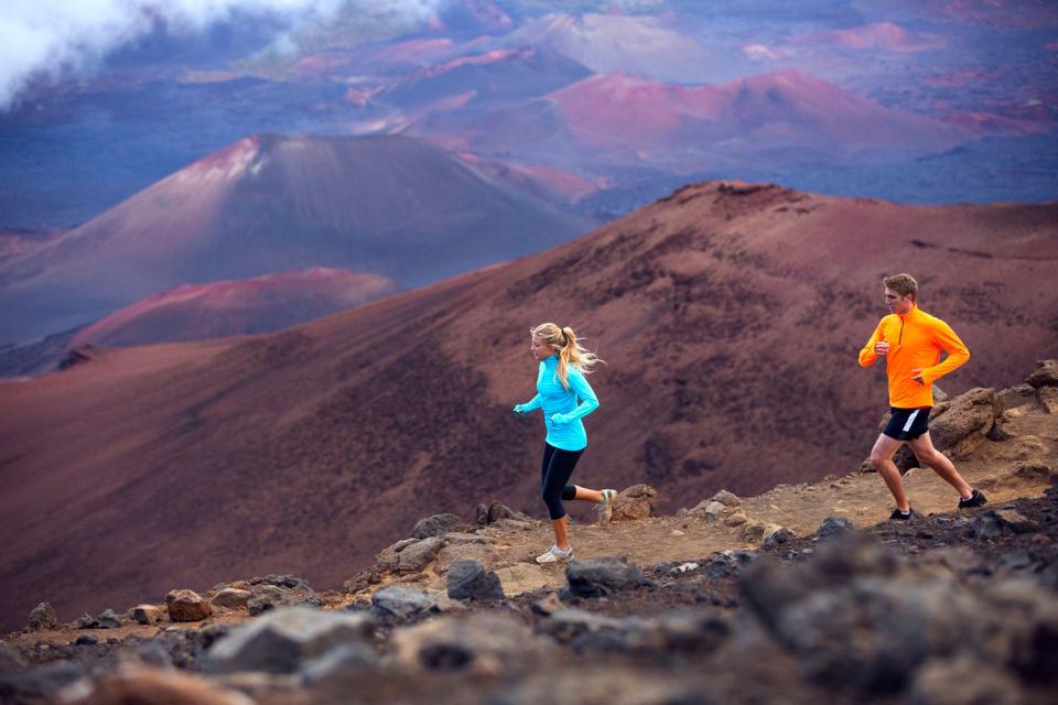 El Parque nacional Haleakala (Maui) , Estados Unidos