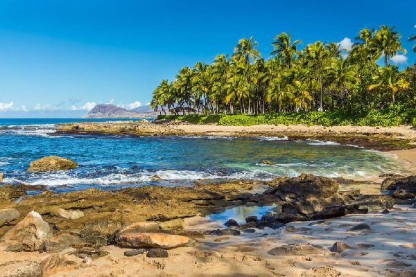 The landscape of Oahu , United States of America