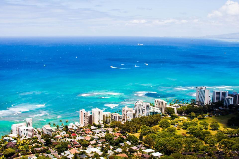 I paesaggi di oahu hawaii stati uniti for Lucernari di hawaii llc