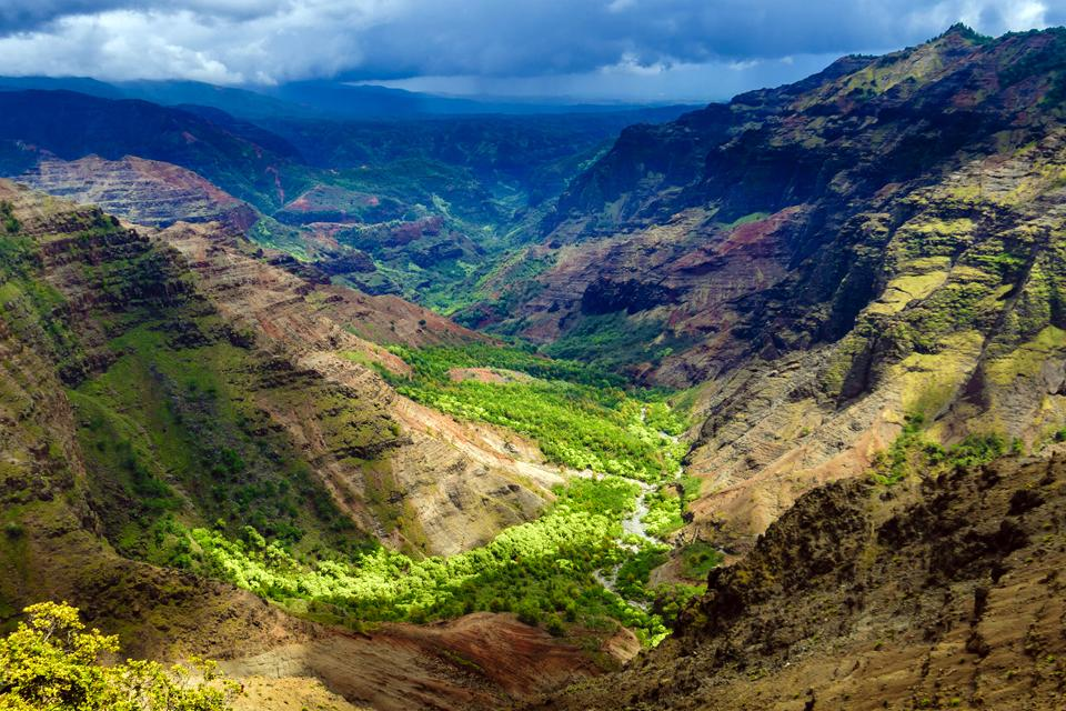 Landscapes Of Kauai Hawaii United States Of America