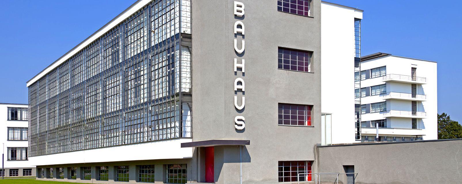 Das Bauhausgebäude in Dessau, Das Bauhaus, Die Künste und die Kultur, Deutschland