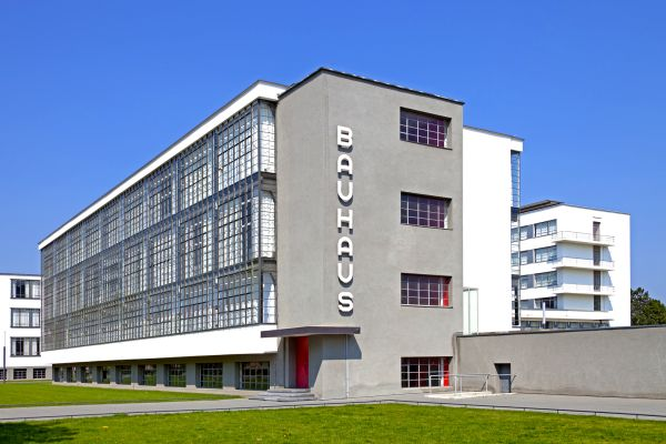 The Bauhaus building in Dessau, The Bauhaus, Arts and culture, Germany