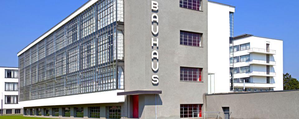 El edificio Bauhaus en Dessau