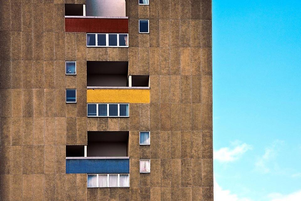 Le Bauhaus , Un bâtiment du Bauhaus , Allemagne