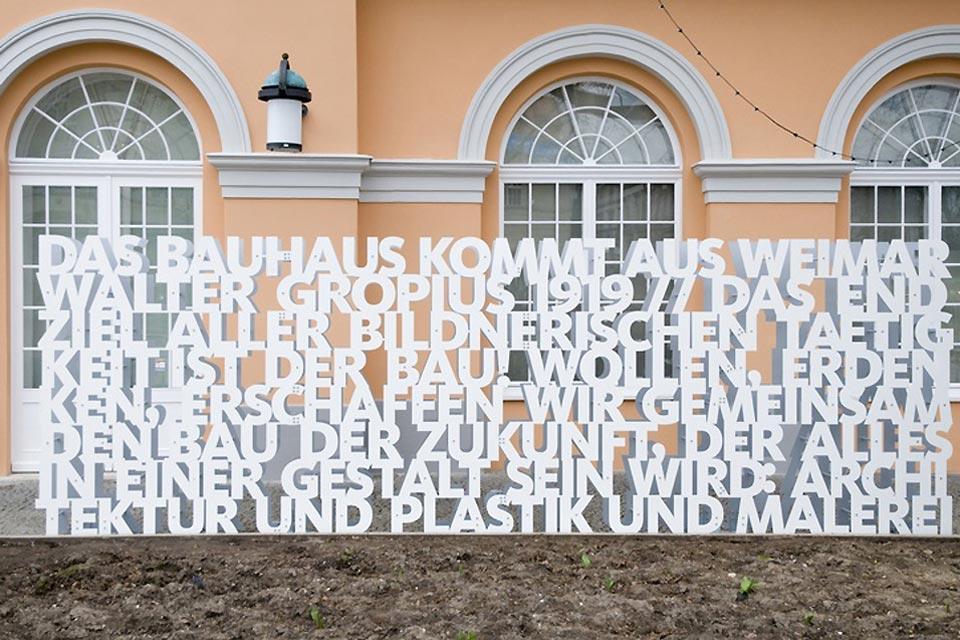 Das Bauhaus , Das Bauhaus Museum in Weimar , Deutschland