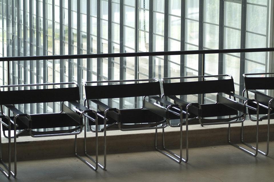 Le Bauhaus , Chaises dans le style Bauhaus , Allemagne
