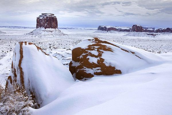 Utah , Monument Valley National Park, Utah-Arizona , United States of America