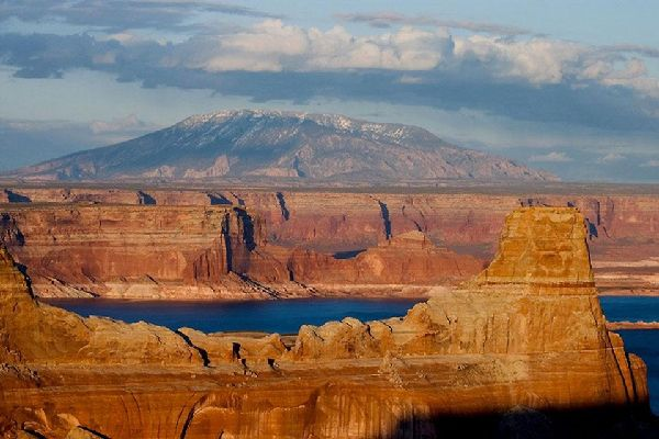 Utah , View from Alstrom Point, Lake Powell, Arizona , United States of America