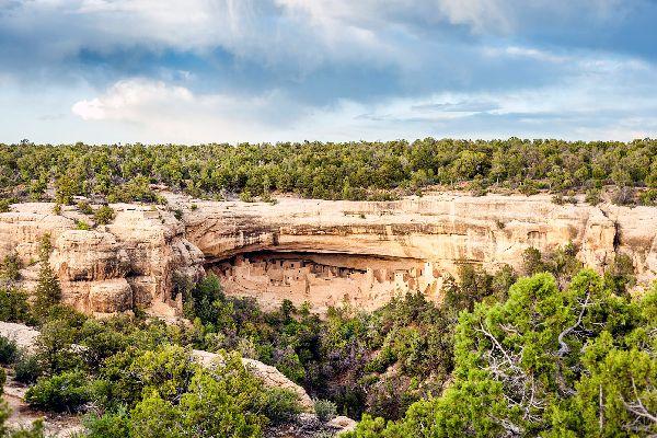 Le site de la Mesa Verde , Le site de Mesa Verde , Etats-Unis
