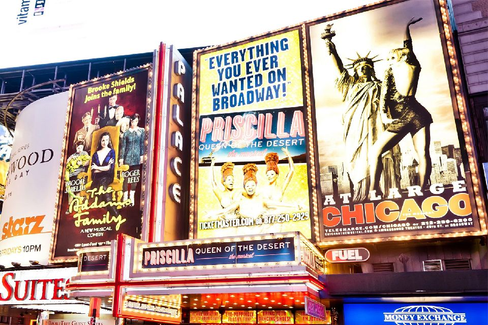 Les spectacles , Affiche de spectacle , Etats-Unis