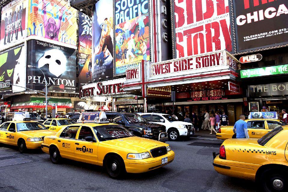 Los espectáculos , Los espectáculos de Broadway , Estados Unidos
