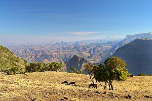 Las montañas del Simen , Los montes Simien, Etiopía , Etiopía