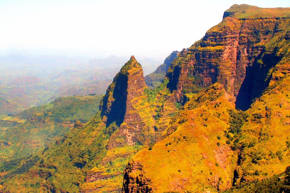 Le montagne del Simen , Etiopia