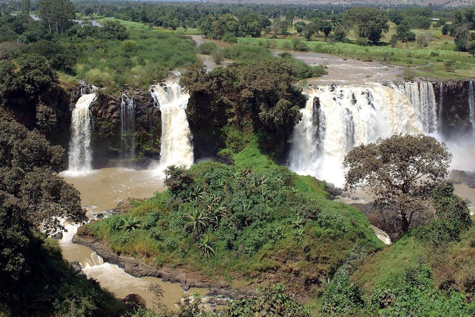 I fiumi , Le cascate del Nilo Azzurro, Etiopia , Etiopia