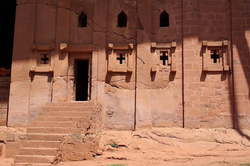 La cité de Lalibela , Ethiopie
