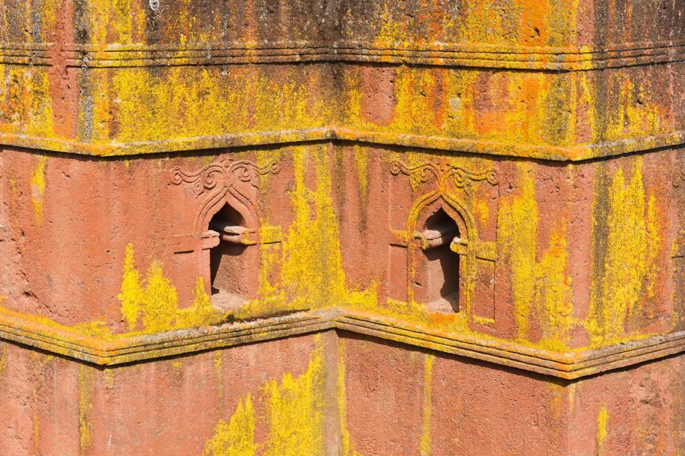 La ciudad de Lalibela , Etiopía
