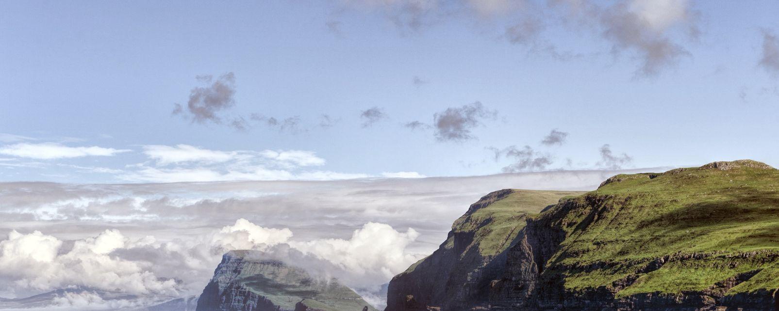Les paysages, Hestur, Koltur, danemark, ile, île, europe, atlantique, mer