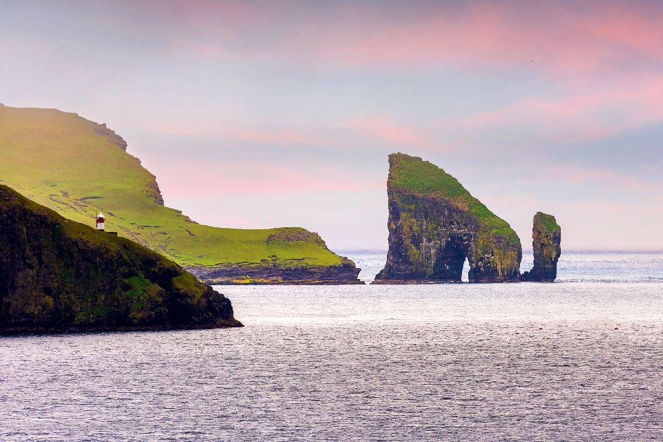 L'île de Vagar , Iles Féroé