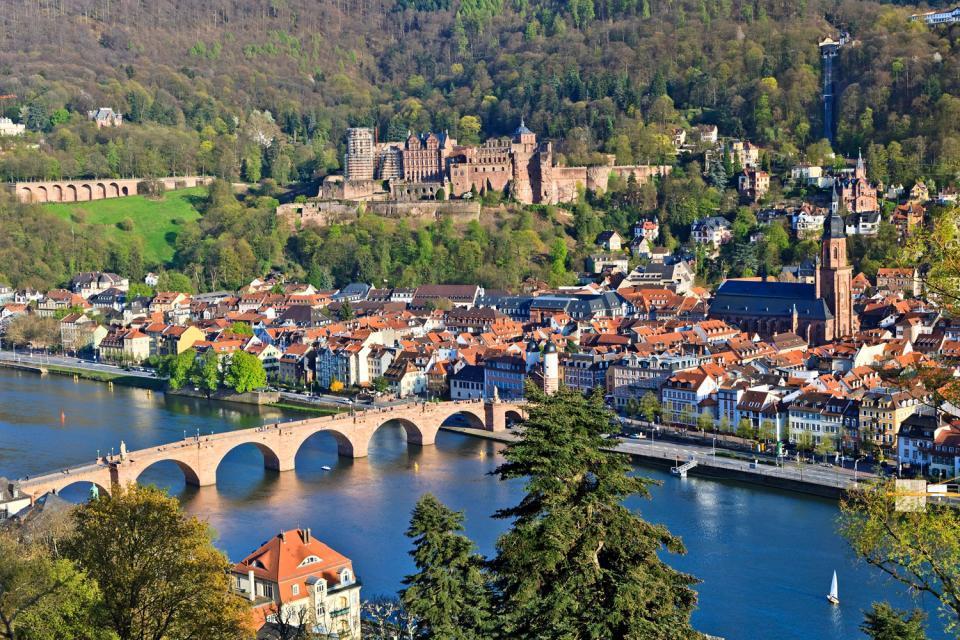 La ruta de las fortalezas , La ruta de los castillos y las fortalezas , Alemania