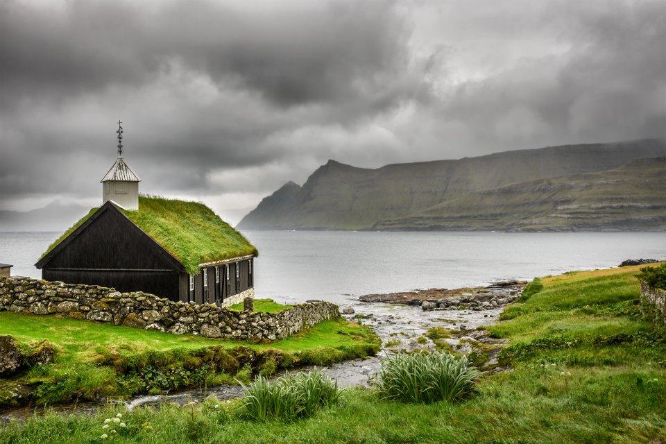 , Die Insel Eysturoy, Die Küsten, Färöer
