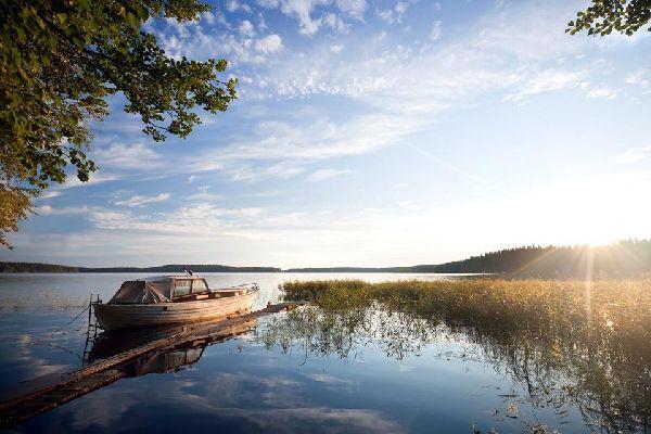La pianura lacustre. , I laghi finlandesi , Finlandia