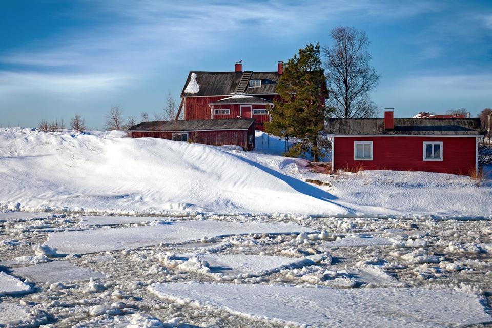Le plateau lacustre , Finlande
